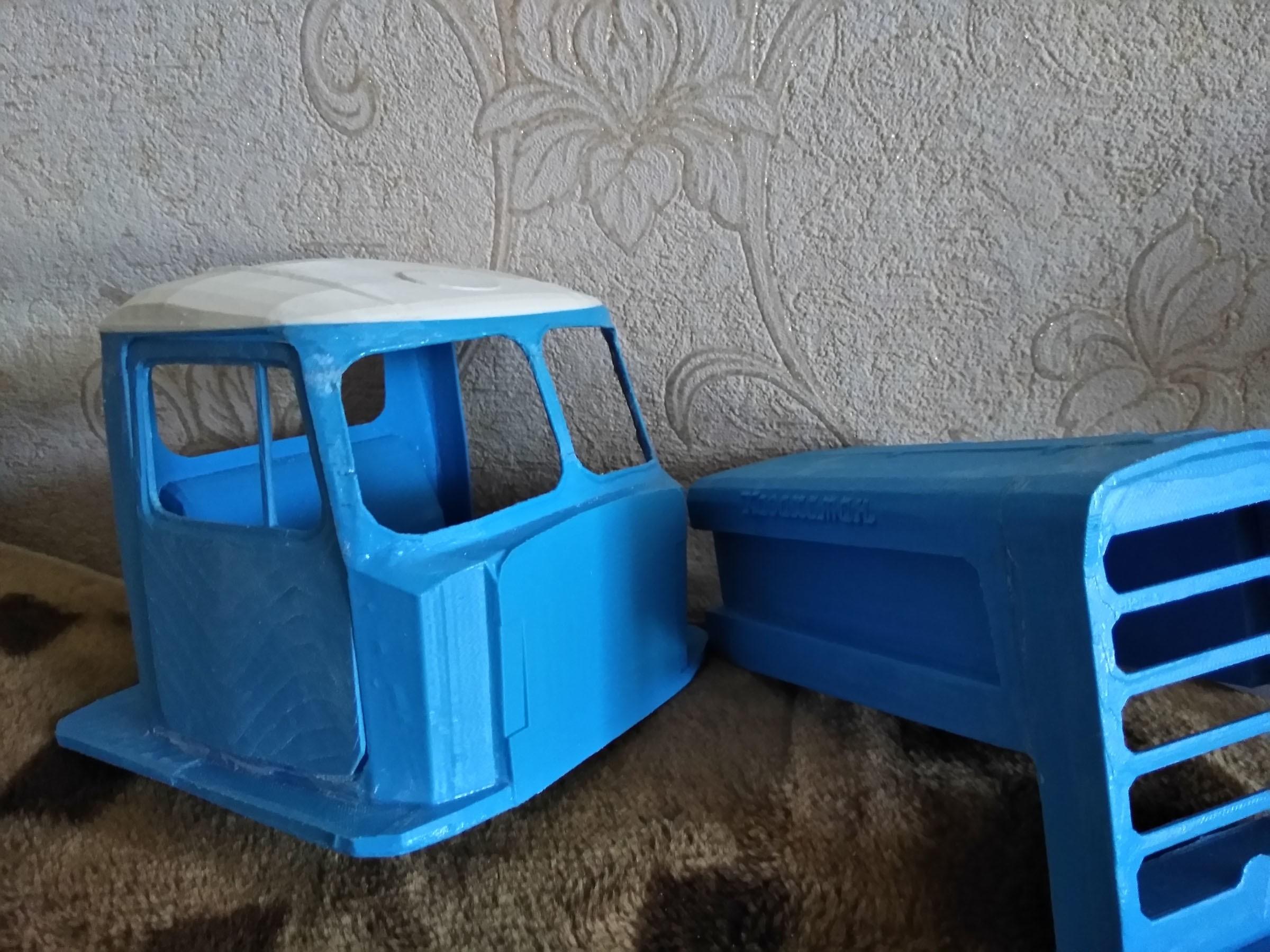 IMG_20170720_1725351.jpg Download free STL file RC Soviet tractor DT-75 Kazakhstan (1\10 scale) • 3D printer design, gamebox13