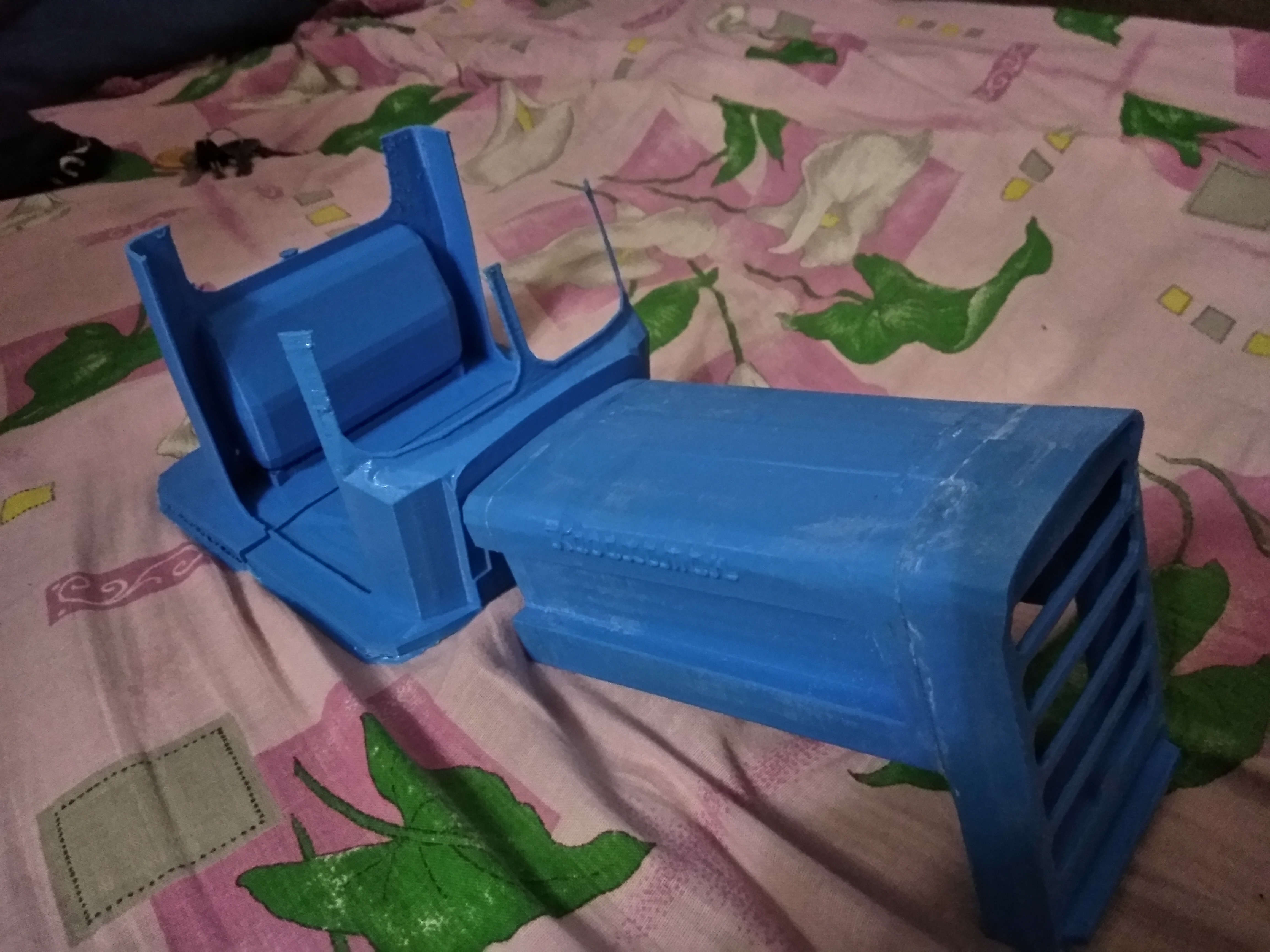 IMG_20170719_212107.jpg Download free STL file RC Soviet tractor DT-75 Kazakhstan (1\10 scale) • 3D printer design, gamebox13
