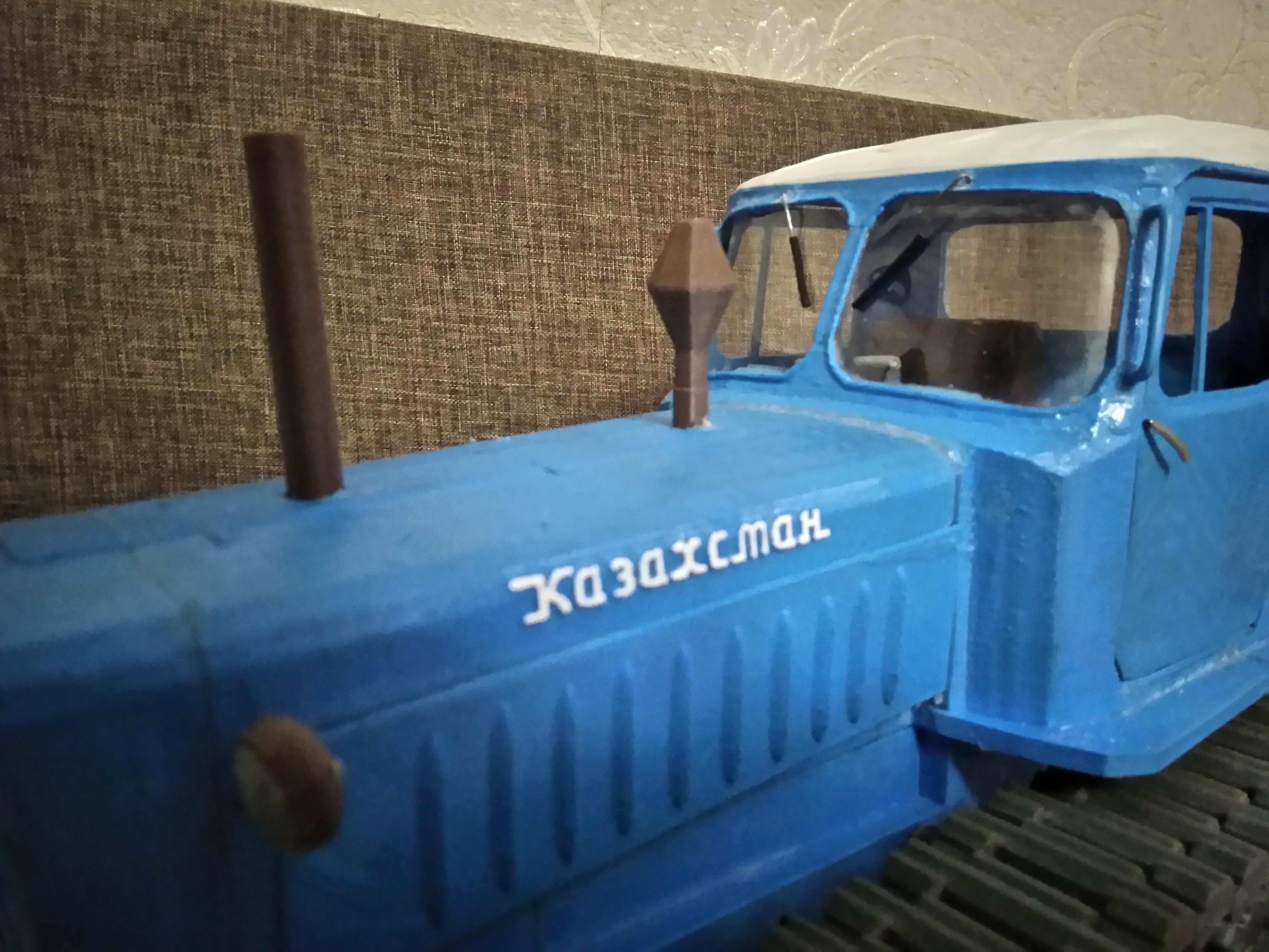 IMG_20180404_205120.jpg Download free STL file RC Soviet tractor DT-75 Kazakhstan (1\10 scale) • 3D printer design, gamebox13