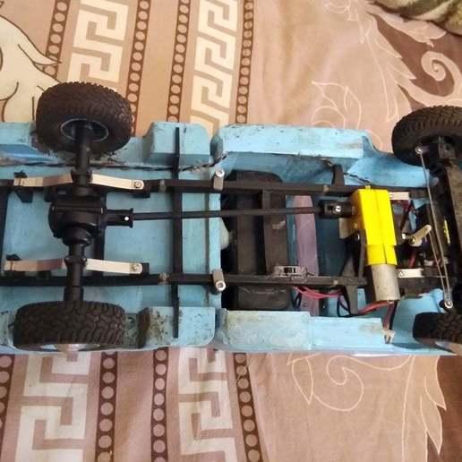 IMG_20201101_124834.jpg Download free STL file RC Chevrolet 3100 • Design to 3D print, gamebox13