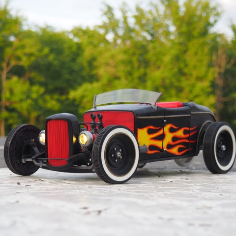 Fichier 3D Tony Starks Hot Rod, gamebox13