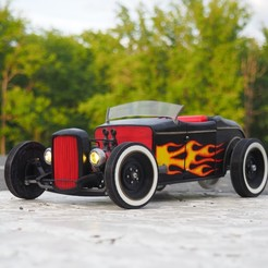 plan 3d Tony Starks Hot Rod, gamebox13