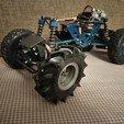 Télécharger objet 3D gratuit Pneus de camion Mega pour le monster truck à l'échelle 1:12 Ursa, tahustvedt