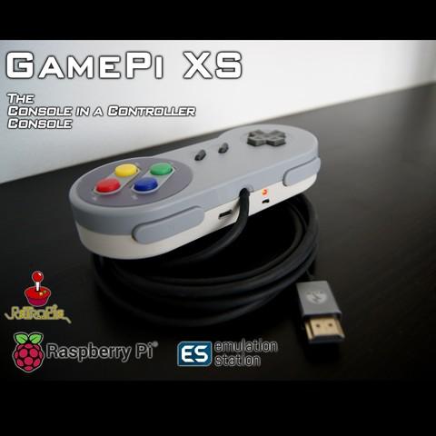 Free 3D print files GamePi XS, araymbox