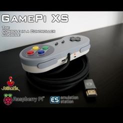 STL gratuit GamePi XS, araymbox