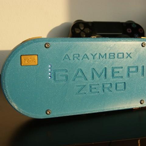 DSC02893.JPG Download free STL file GamePi Zero • 3D printer template, araymbox