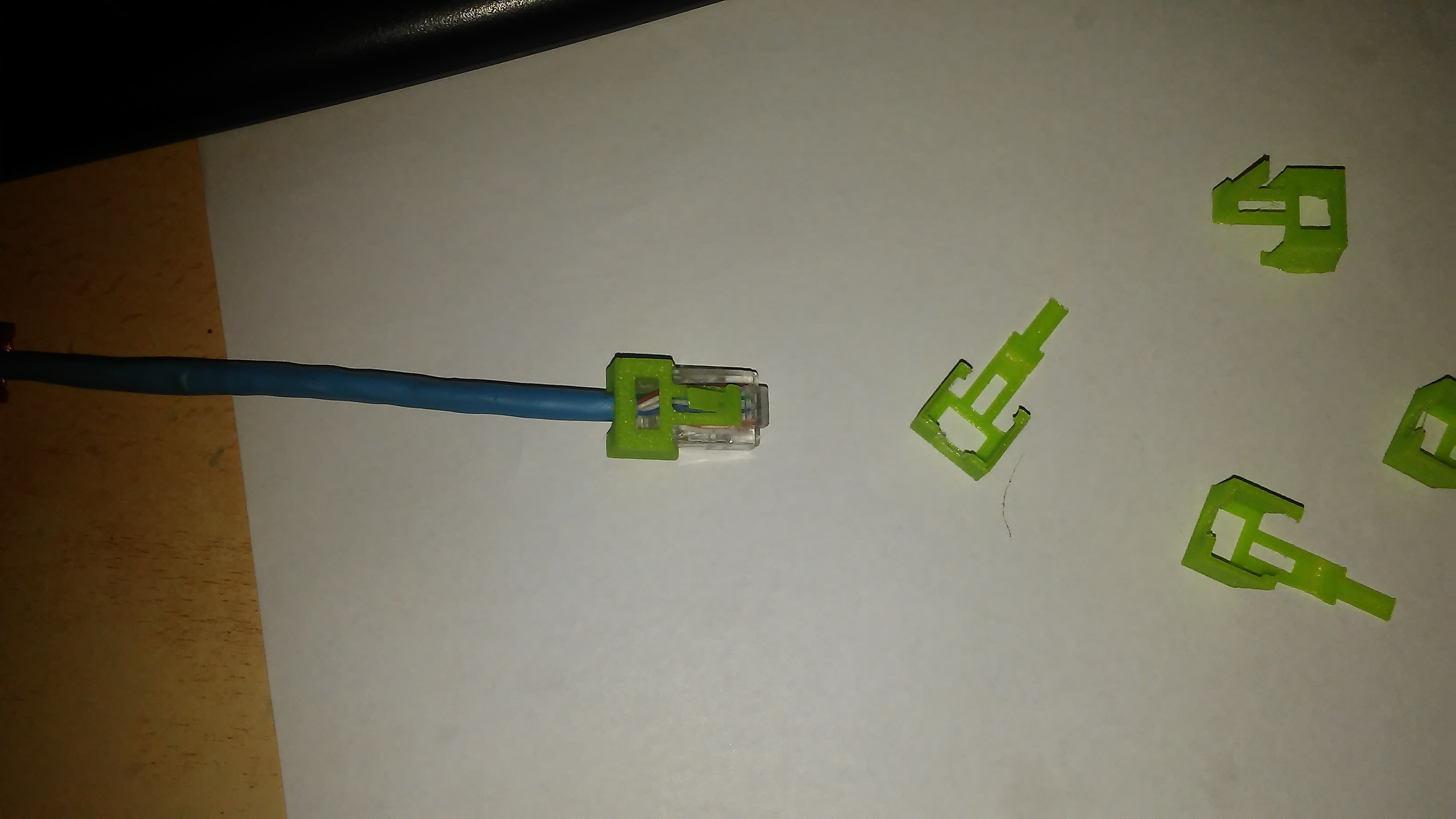 1008181823.jpg Download STL file rj45 broken clip • Template to 3D print, zzzzzcav