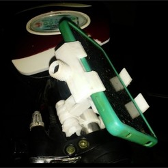 Descargar archivo 3D Movil holder, zzzzzcav