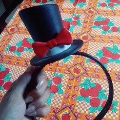 sweetsnap_20191215_134155.jpg Download STL file ornamental hat • 3D printing model, zzzzzcav