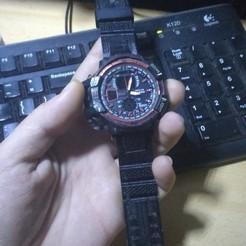 IMG_20200610_154040527.jpg Download STL file Watch bracelet • Design to 3D print, zzzzzcav