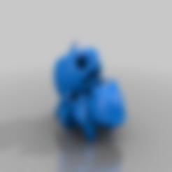 Download free 3D printer templates Bulbasaur pumpkin, zzzzzcav