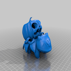 Bulbasaur_Pimpkin_2.png Download free STL file Bulbasaur pumpkin • 3D printable template, zzzzzcav