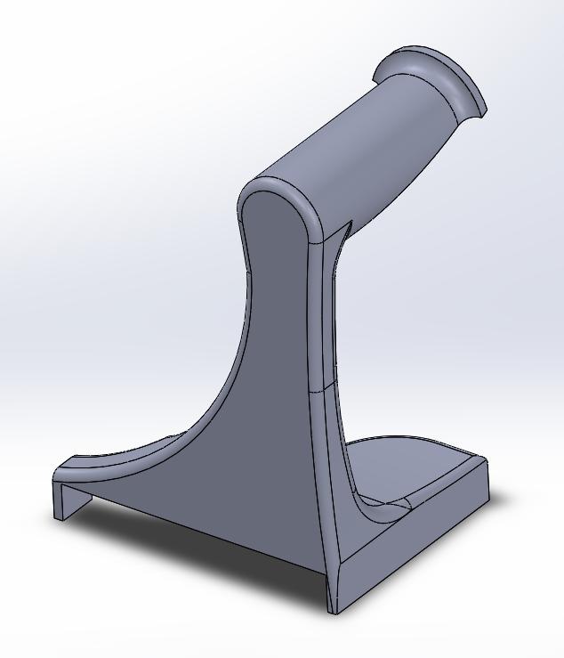 Filament Holder 2 Picture 2.PNG Download free STL file TEVO Tornado Filament Holder 2 • 3D print design, 3D_Cre8or