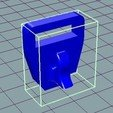 Download free 3D printer templates Tension to Compression Spring Inverter, 3D_Cre8or