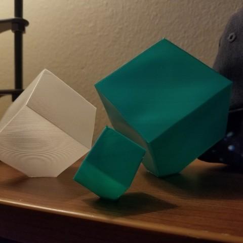Télécharger fichier imprimante 3D gratuit Cube en spirale de la transcendance, 3D_Cre8or