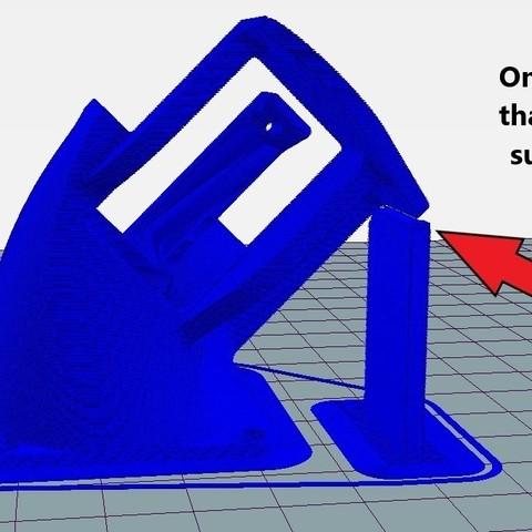 5d42af5be8de18075334616cb039b35f_display_large.jpg Download free STL file Upgraded TEVO Tornado Hot End Fan Mount • 3D print object, 3D_Cre8or