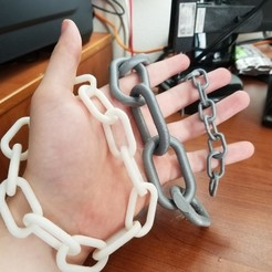 Free STL file Easy Chain, 3D_Cre8or
