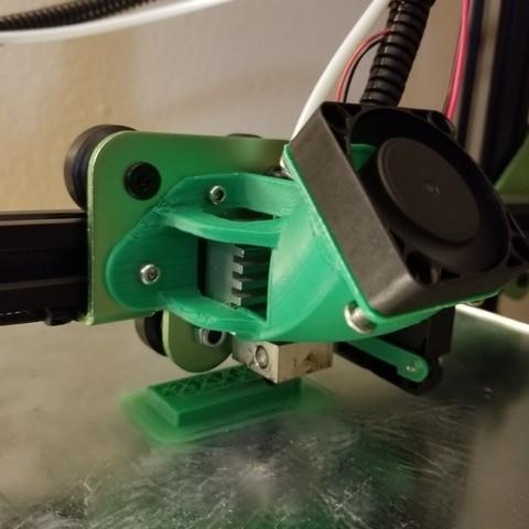 Télécharger STL gratuit Montage à l'extrémité chaude du ventilateur TEVO Tornado modernisé, 3D_Cre8or