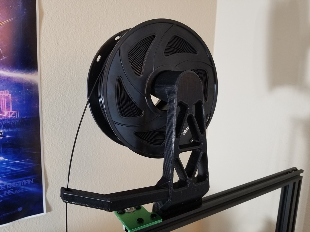 e958fac38684fc5097902484eb6cd6ee_display_large.jpg Download free STL file TEVO Tornado/20x20 Extrusion Filament Holder 3 • 3D printable object, 3D_Cre8or