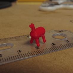 Descargar modelos 3D gratis Pequeña Llama, 3D_Cre8or