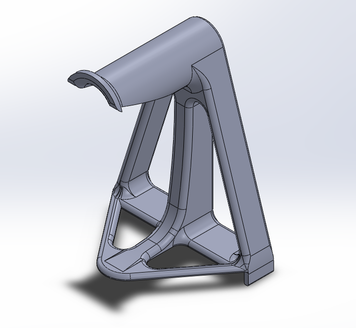 Filament Holder Picture.PNG Download free STL file TEVO Tornado Filament Holder • 3D printable model, 3D_Cre8or