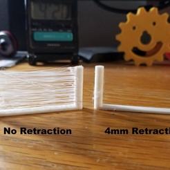 Télécharger STL gratuit Ultimate-er Stringing Test, 3D_Cre8or