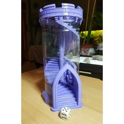 af17160f03ba49a8680fb114a8054cc9_preview_featured.jpg Download free STL file Another dice tower • 3D printer template, Lau85