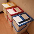 """Télécharger fichier 3D gratuit Charnière pour tube PVC 5/8""""., Lau85"""