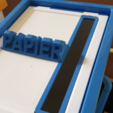 Download free 3D printing files Paper Slot for letterboxes, Lau85