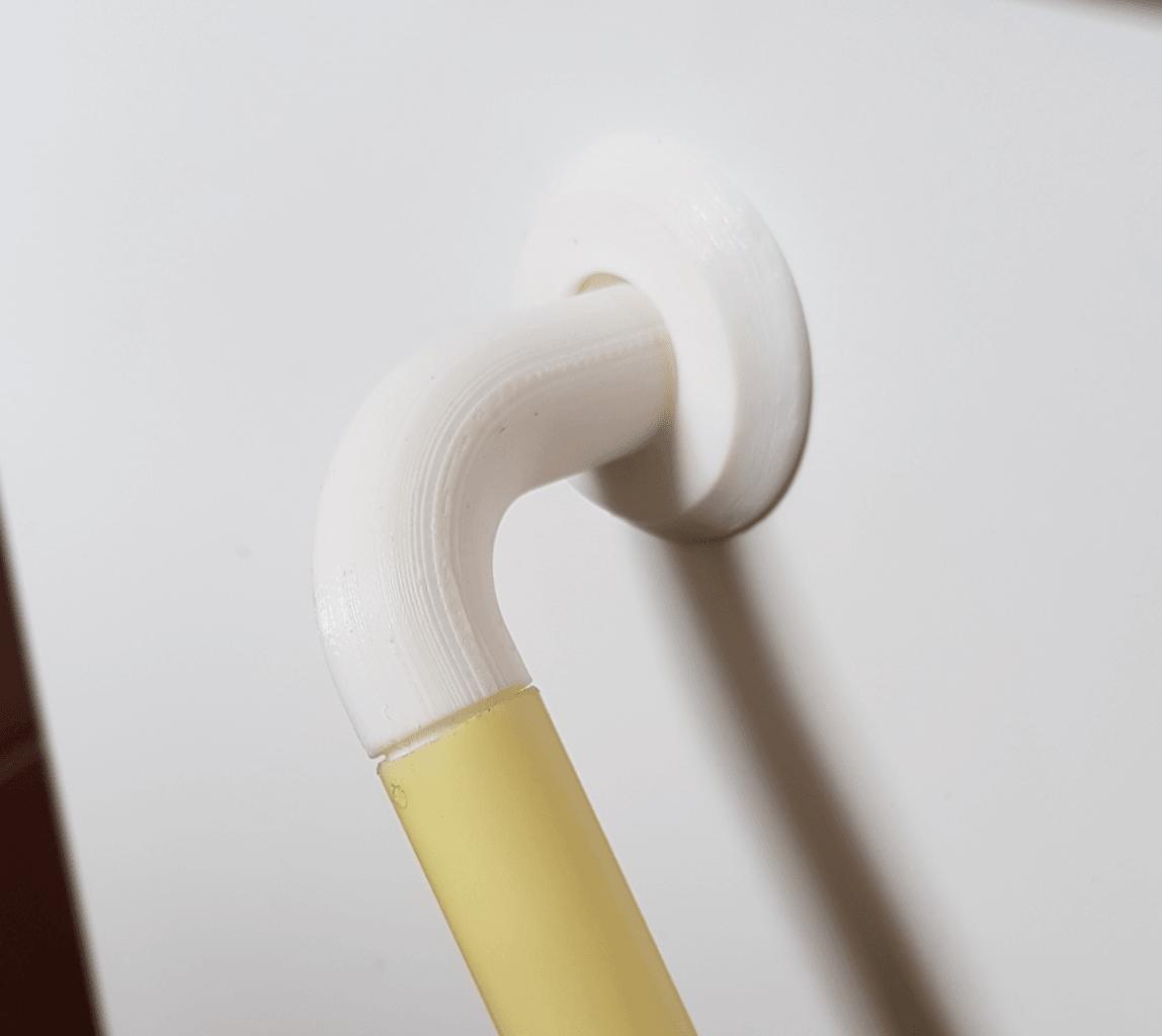 """Capture d'écran 2018-04-25 à 11.27.24.png Télécharger fichier STL gratuit Charnière pour tube PVC 5/8"""". • Modèle imprimable en 3D, Lau85"""