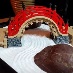 Download free 3D printing models Moon Bridge - Japanese Inspired, Lau85