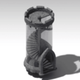 Free 3d printer designs Another dice tower, Lau85