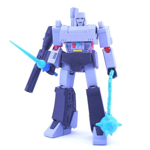 Download 3D printer model ARTICULATED GUNMASTER (NOT G1 MEGATRON) - NO SUPPORT, Reza_Aulia