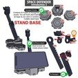 Download 3D printing templates ARTICULATED SPACE DEFENDER (Not Astro Megazord) - NO SUPPORT, Reza_Aulia
