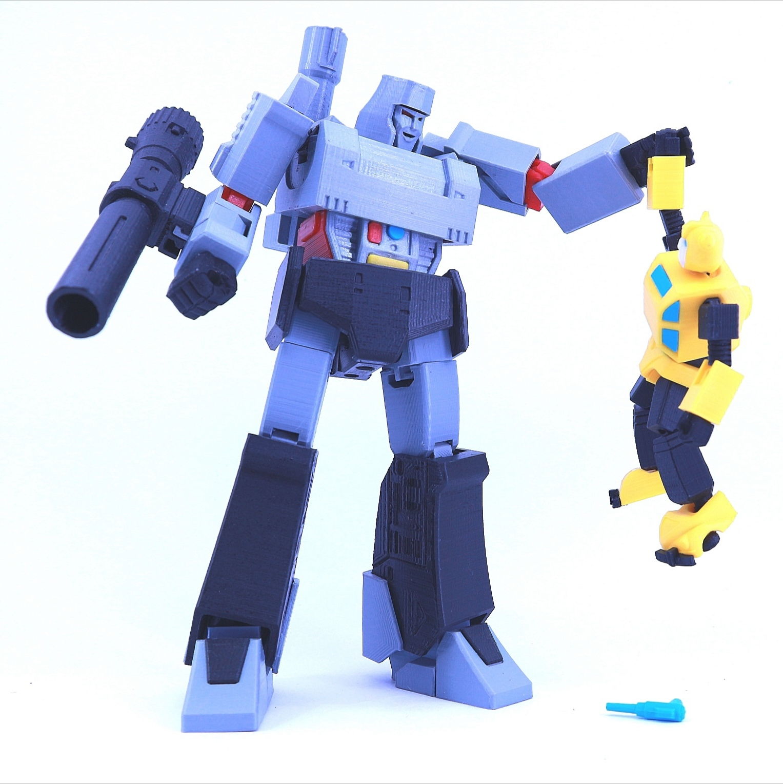 bee7.jpg Download free STL file ARTICULATED G1 TRANSFORMERS BUMBLEBEE - NO SUPPORT • 3D printing model, Toymakr3D