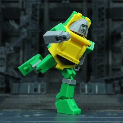 Brawn_1X1_5.jpg Download free STL file G1 Transformers Brawn • 3D printer object, Toymakr3D