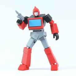 Download free STL files ARTICULATED G1 TRANSFORMERS IRONHIDE - NO SUPPORT, Reza_Aulia