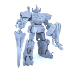 3D printing model Articulated Power Robot Not Dino Megazord No Support, Reza_Aulia
