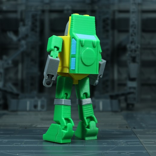 Brawn_1X1_2.jpg Download free STL file G1 Transformers Brawn • 3D printer object, Toymakr3D