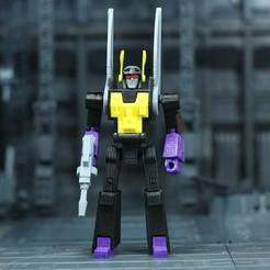 Kickback_1X1_1.JPG Download free STL file G1 Transformers Kickback - No Support • 3D printing template, Toymakr3D