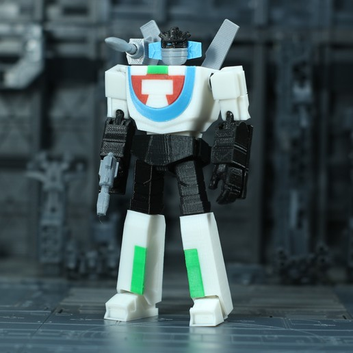 Download free STL file G1 Transformers Wheeljack - No Support • 3D print object, Toymakr3D