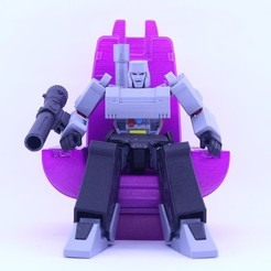 Download free 3D printing files GUNMASTER THRONE (NOT G1 MEGATRON) - NO SUPPORT, Reza_Aulia