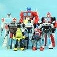 Télécharger STL gratuit G1 Transformers Jazz - Pas de soutien, Toymakr3D