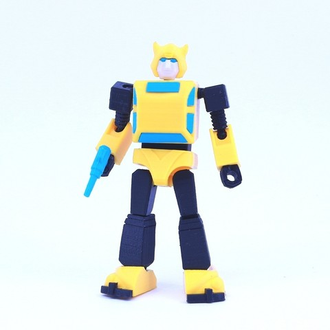 Free 3D printer files ARTICULATED G1 BUMBLEBEE - NO SUPPORT, Reza_Aulia