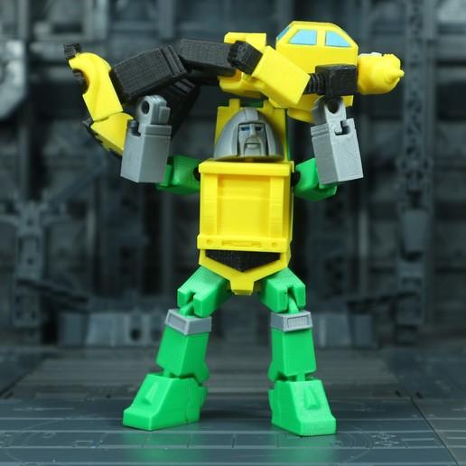 Brawn_1X1_6.jpg Download free STL file G1 Transformers Brawn • 3D printer object, Toymakr3D