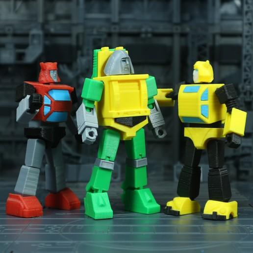 Brawn_1X1_7.jpg Download free STL file G1 Transformers Brawn • 3D printer object, Toymakr3D