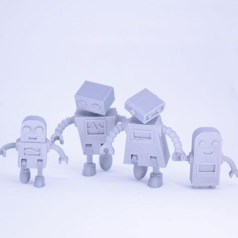 Curls3D2.jpg Télécharger fichier STL gratuit Famille de robots Simple Pas de soutien • Plan imprimable en 3D, Toymakr3D