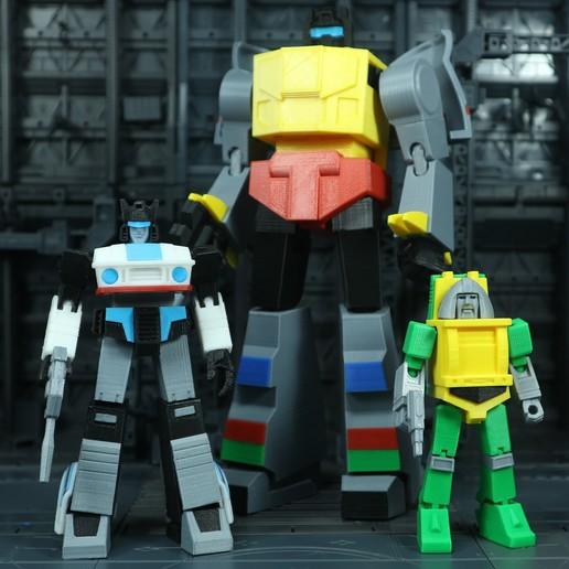 Brawn_1X1_8.jpg Download free STL file G1 Transformers Brawn • 3D printer object, Toymakr3D