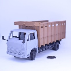 Download free 3D print files Classic Transport Truck No Support, Toymakr3D