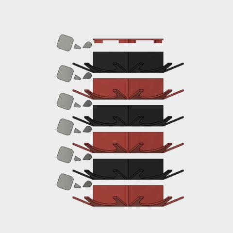 fichier imprimante 3d support pour capsules vertuo cults. Black Bedroom Furniture Sets. Home Design Ideas